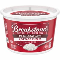 Breakstone's 4% Milkfat Small Curd Cottage Cheese - 16 oz