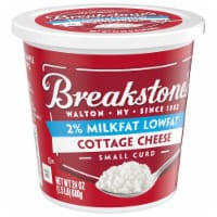 Breakstone's Small Curd 2% Milkfat Low Fat Cottage Cheese