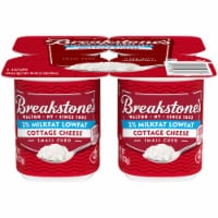 Breakstone's Small Curd 2% Milkfat Low Fat Cottage Cheese Cups