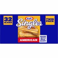 Kraft® Singles American Cheese Slices - 32 ct