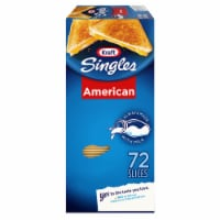Kraft Singles American Cheese Slices 72 Count