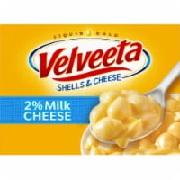 Velveeta Shells & Cheese Made with 2% Milk Shell Pasta & Creamy Cheese Sauce