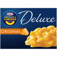 Kraft Deluxe Original Cheddar Macaroni & Cheese Dinner