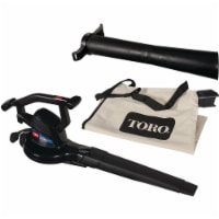 Toro Super 230 MPH 390 CFM 12 Amp Electric Blower/Vacuum/Mulcher 51618 - 1