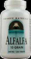 Source Naturals Alfalfa 10 Grain Tablets 648 mg - 250 ct