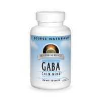 Source Naturals GABA 750 mg Tablets