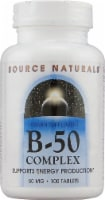 Source Naturals B-50 Complex Tablets 50mg