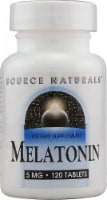 Source Naturals  Melatonin - 5 mg - 120 Tablets