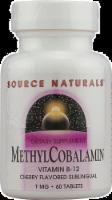 Source Naturals MethylCobalamin Cherry Flavored Vitamin B-12 Tablets 1mg