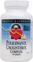 Source Naturals Policosanol Cholesterol Complex Tablets