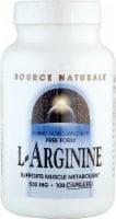 Source Naturals Free Form L-Arginine Capsules 500mg