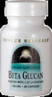 Source Naturals Beta Glucan 100 MG Capsules