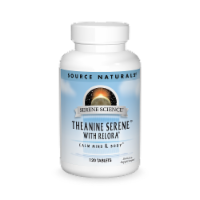 Source Naturals Serene Science Theanine Serene Calm Mind & Body Tablets - 120 ct