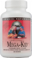 Source Naturals Mega-Kid Multi-Vitamin Natural Berry Chewable Wafers 30 Count