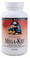 Source Naturals Mega-Kid Multi-Vitamin Chewable Wafers 60 Count