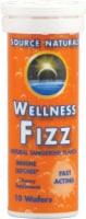 Source Naturals  Wellness Fizz™   Natural Tangerine - 10 Wafers
