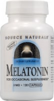 Source Naturals Melatonin Capsules 3 mg