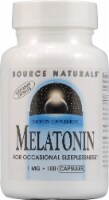 Source Naturals Melatonin Vegetarian Capsules 1 mg