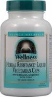 Source Naturals  Wellness Herbal Resistance™ Liquid Vegetarian Caps