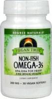 Source Naturals Vegan True Omega-3s Softgels 300 mg