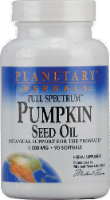 Planetary Herbals Pumpkin Seed Oil 1000 MG Softgels