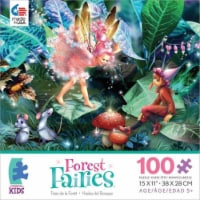 Ceaco 30375570 No.160223 Forest Fairies Style Puzzle - 100 Piece - 1