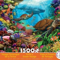 Ceaco 30377620 Turtles Ocean Voyage Jigsaw Puzzle - 1500 Pieces