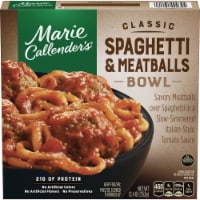 Marie Callender's Classic Spaghetti and Meatballs Frozen Meal - 12.4 oz