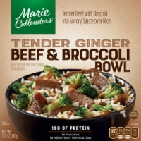 Marie Callender's Tender Ginger Beef & Broccoli Bowl Frozen Meal