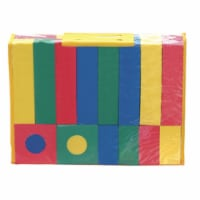 Chenile Kraft 067290 Non-Toxic WonderFoam Block, Assorted Size, Assorted Color, Pack 40