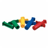Dough Extruders, 12 Assorted Patterns, Approx. 3 , 12 Pieces - 1