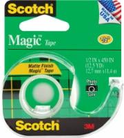 Scotch® Magic™ Matte Finish Tape - 12.5 yd