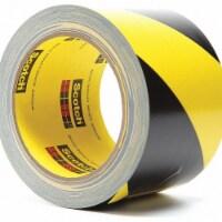 3m Marking Tape,Roll,3In W,Black/Ylw,PK12 HAWA