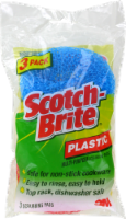Scotch-Brite™ Plastic Multi-Purpose Scrubbing Pads - Blue