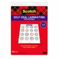 Scotch Pouch,Lam,Gls9x11.5,10/Pk 70005147700 - 9 x 11.5