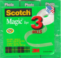 Scotch® Magic™ Tape Refill - 3 Count