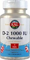 KAL D-2 Peppermint Chewables 1000IU