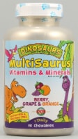 KAL Dinosaurs MultiSaurus® Berry Grape and Orange Chewables 90 Count