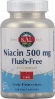 KAL Niacin Flush-Free Capsules 500 mg