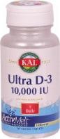 KAL Ultra D-3 Micro Tablets 10000 iu
