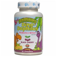 KAL Dinosaurs DinoDophilus Black Cherry Chewables 60 Count