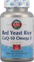 KAL Red Yeast Rice CoQ-10 Omega 3 Softgels