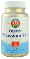 KAL  Potassium 99+ Amino Acid Chelate Tablets - 50 ct