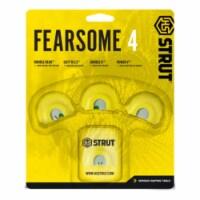 Hunters Specialties Hunters Specialties Strut Fearsome 4 Diaphragm 4 Pack - 1