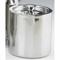 Kraftware 70389 Polished Stainless Steel 1.5 Quart Doublewall Insulated Ice Bucket No Handle - 1