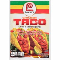Lawry's Chicken Taco Spices & Seasonings Mix - 1 oz