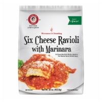 Carla Six Cheese Ravioli with Marinara Sauce