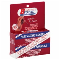 B Total Fast Acting Formula Liquid Energy B12 Boost