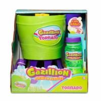 Gazillion Bubbles Tornado Bubble Machine & Bubble Solution - Green/Purple