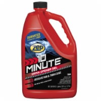 Zep 10 Minute Hair Clog Remover Gel Drain Cleaner 128 oz. - Case Of: 4; - Case of: 4